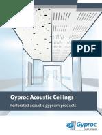 Gyproc Productbrochures Acousticceilingsbrochure