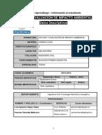 Estudio y Evaluacion de Impacto Ambiental