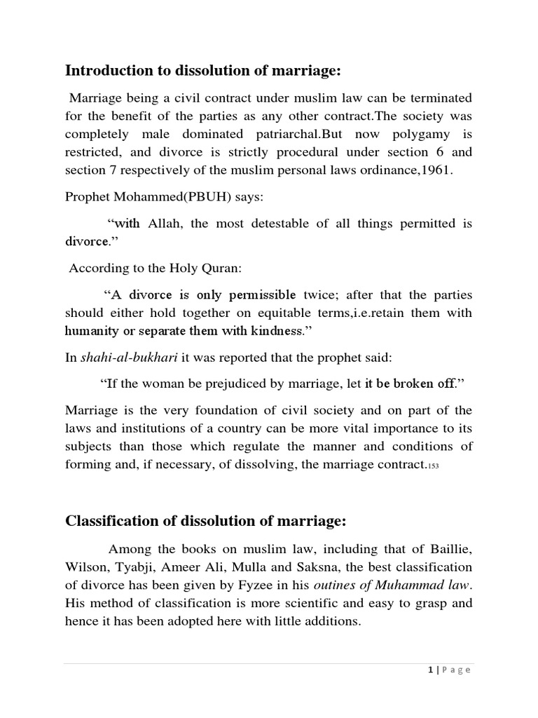 conditions for valid marriage contract in islam