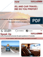 Air Travel and Car Travel-Which One Do You Prefer.pptx