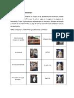 Laboratorio 3 Analisi Quimico