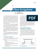 BN 013 Surge Flow Irrigation