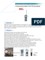 WASP-XM-P-VOC Pum-priming Portabl VOC Gas Detector