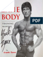 Frank Zane - The Zane Body Training Manual