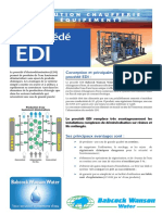 Electrodeionisation EDI Babcock-Wanson