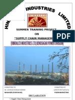 Ankur Srivastava Project on Scm. at Purchase Dept(2010)