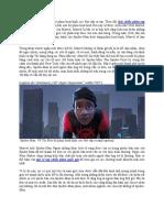 Spider Man Bộ Phim Hoạt Hình Đình Đám Ra Mắt Phần Mới