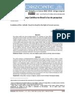 Konings e Mori - 2012 - A Evolução Da Igreja Católica No Brasil à Luz de p