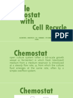 Single Chemostat With Recycle