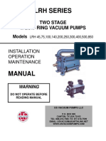 Liquid Ring Pump Manual