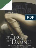 Anita Blake-3 Le Cirque Des Damnees