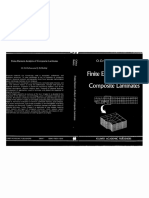 Finite Element Analysis of Composite Laminates 0792311256