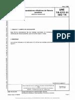 UNE 18-072-84_ISO14