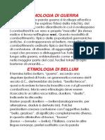 Lingua e Letteratura Latina