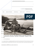 10 Lessons Every Father Should Teach His Son _ Fathers Day