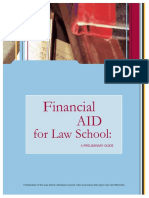 Financial Aid for Law School - A Prelimiary Guide (LSAC)
