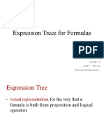 Expression Trees for Formulas