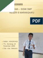 perpisahan  SMPN6 2015