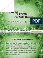 Cheap LED TV For Sale Online