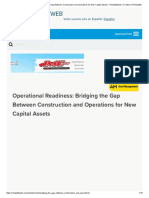 Operational Readiness_ Bridging the Gap Between Construction and Operations for New Capital Assets