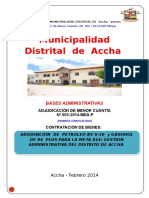 Bases Amc Nº 002-2014 Combustible Gestion Administrativa