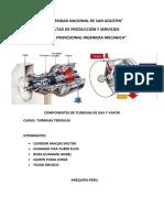 COMPONENTES DE TURBINAS DE GAS Y VAPOR