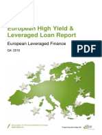 Afme Hyd 2016 q4 European Leveraged Finance