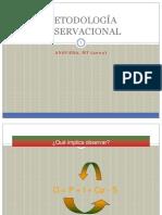Fundamentos de metodologia observacional
