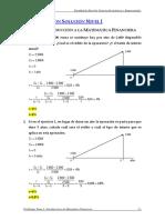 Solucionario Ejercicios Matemática Financiera Nivel I (1)
