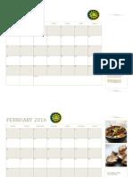 Small Business Calendar (Any Year, Mon-Sun)1