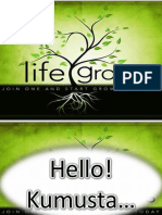 First Life Groups Launching
