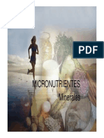 Micronutrientes. Minerales