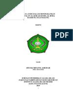 Skripsi Siti Ma'Rifatul Asrofah