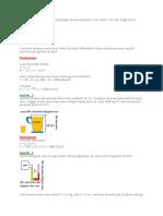 Tugas Mekanika Fluida dan Pembahasannya