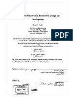 Complexity Reduction in Automotive Design and Development