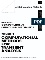 T. Belytschko, T.J.R. Hughes Computational Methods for Transient Analysis