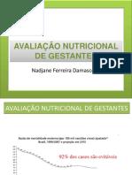 Avaliação Nutricioal de Gestante