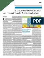 Amor Por El Bitcoin Se Extiende a Los Más Ricos de América Latina