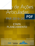 Manual Par 2016 2019 Etapa Planejamento v1 Set 2017