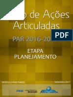 Manual Par 2016 2019 Etapa Planejamento v1 Set 2017