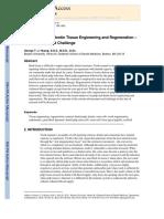 Dental Pulp and Dentin Tissue Engineering and Regeneration