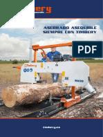 Aserraderos y canteadoras economicas Timbery M100 E100