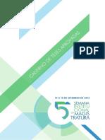 Caderno de Teses Aprovadas - 5a Semana Institucional TRT-PR