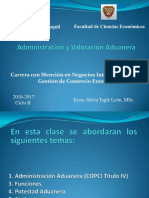 1.- Administracion Aduanera - COPCI