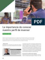 La Importancia de Conocer Nuestro Perfil de Inversor
