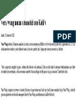 Vera Wang lancia i cosmetici con Kohl's|PambiancoNews