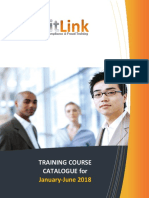 AuditLink Course Catalog - Jan to June 2018