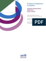 El Sector Fundacional en España. Atributos fundamentales (2008-2014). Tercer informe