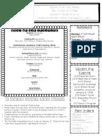 sept 25-29 newsletter