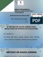 Método Gauss Jordan (1)